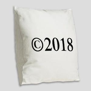 Copyright 2018-Tim black Burlap Throw Pillow