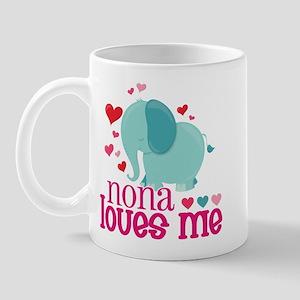 Nona Loves Me - Elephant Mug