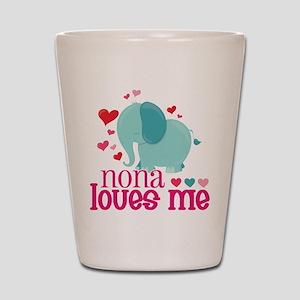 Nona Loves Me - Elephant Shot Glass