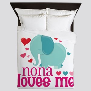 Nona Loves Me - Elephant Queen Duvet