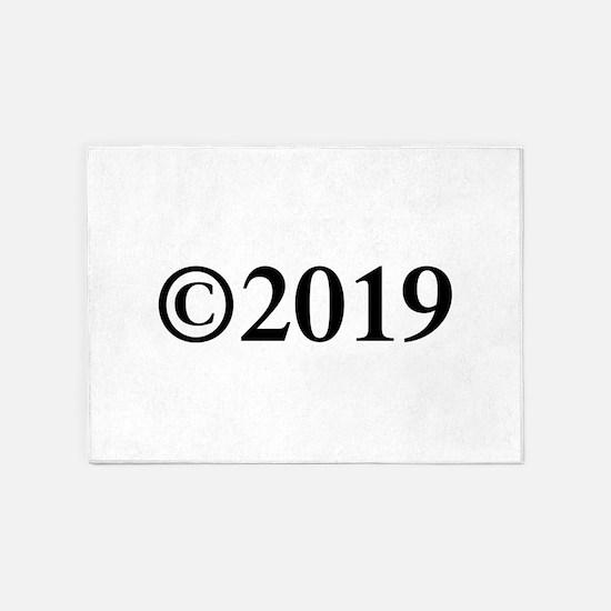 Copyright 2019-Tim black 5'x7'Area Rug