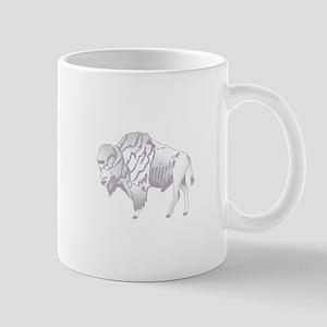 White Buffalo Mugs