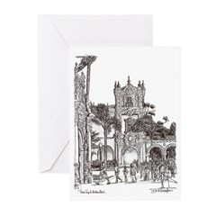DRAWINGS OF SAN DIEGO Greeting Cards (Pk of 20)