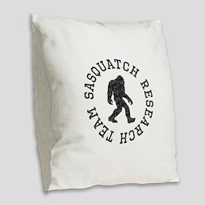 Sasquatch Research Team (Distressed) Burlap Throw