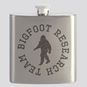 Bigfoot Research Team (Distressed) Flask