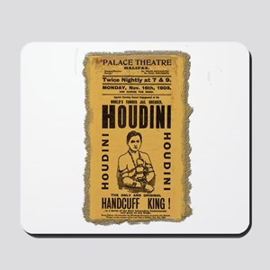 Vintage Houdini Poster Mousepad