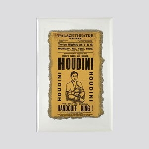 Vintage Houdini Poster Rectangle Magnet