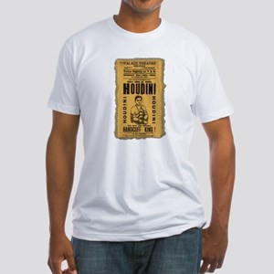Vintage Houdini Poster Fitted T-Shirt