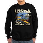 Front Only, Black Or Navy Blue Sweatshirt (dark)