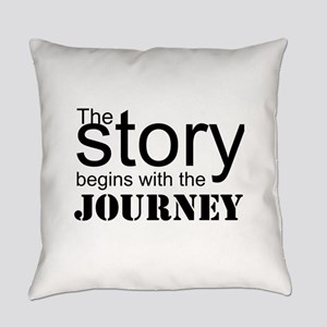 The Journey Everyday Pillow