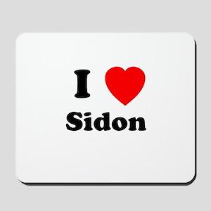 I Heart Sidon Mousepad