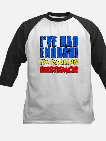 Had Enough Calling Bestemor Baseball Jersey