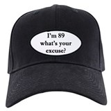 89th birthday Baseball Cap with Patch