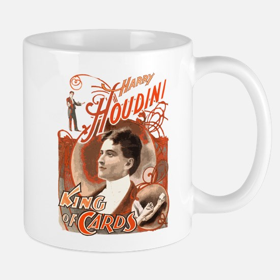 Retro Harry Houdini Poster Mug