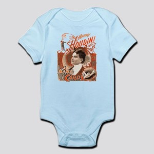 Retro Harry Houdini Poster Infant Bodysuit