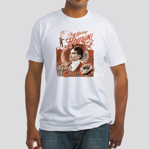 Retro Harry Houdini Poster Fitted T-Shirt