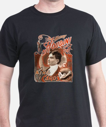Retro Harry Houdini Poster T-Shirt