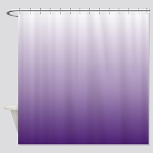 trendy girly ombre Shower Curtain