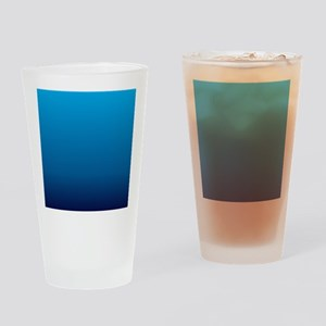 trendy girly ombre Drinking Glass