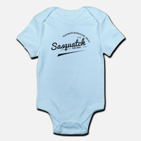 Sasquatch Bar And Grill (Distressed) Body Suit
