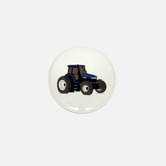 Farm Tractor Mini Button