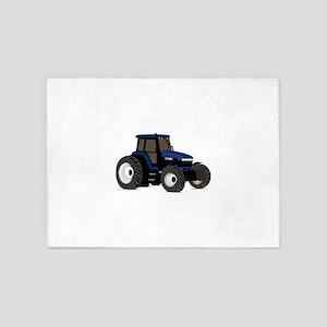 Farm Tractor 5'x7'Area Rug
