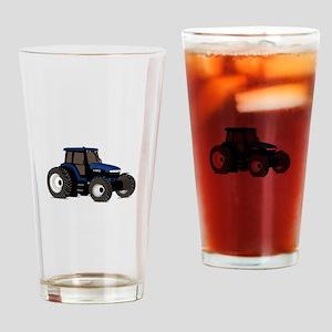 Farm Tractor Drinking Glass