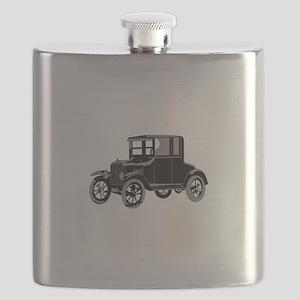 Antique Car Flask