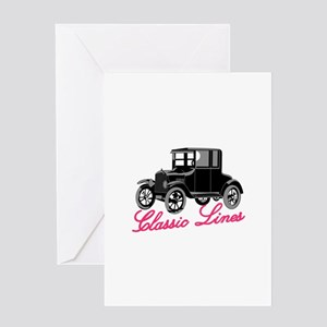 Classic Lines Greeting Cards