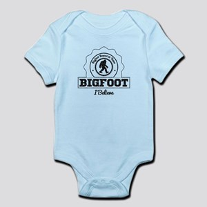 Bigfoot I Believe (Distressed) Body Suit