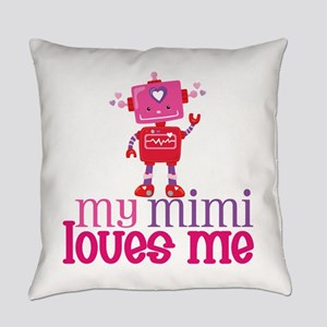 My Mimi Loves Me Everyday Pillow