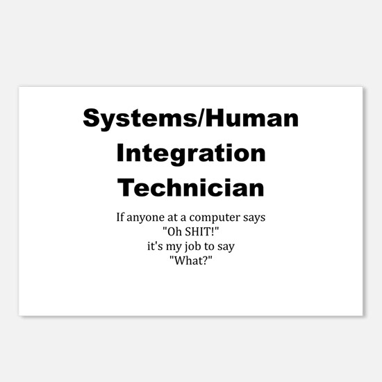 Unique Tech Postcards (Package of 8)