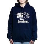 This Guy is a Jenius Women's Hooded Sweatshirt