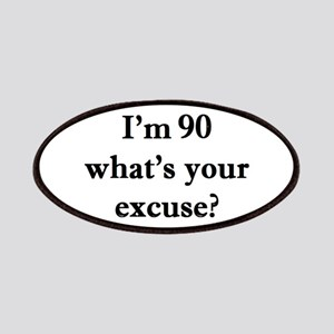 90 your excuse 1C Patch