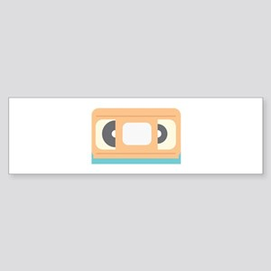 VHS Tape Bumper Sticker