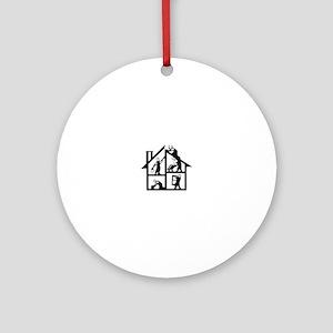 Building Logo Ornament (Round)