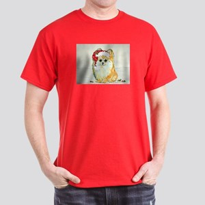 Christmas Pomeranian Dark T-Shirt