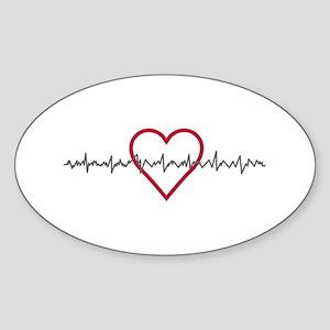 Heartbeat Sticker