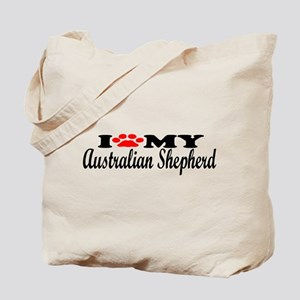 Australian Shepherd - I Love My Tote Bag