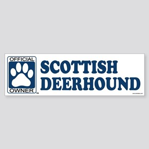 SCOTTISH DEERHOUND Bumper Sticker