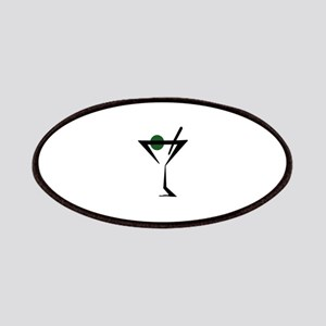 Abstract Martini Glass Patch