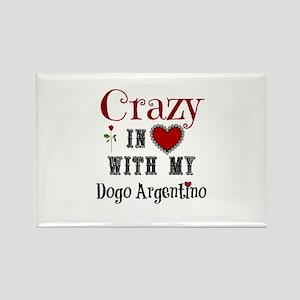 Dogo Argentino Magnets
