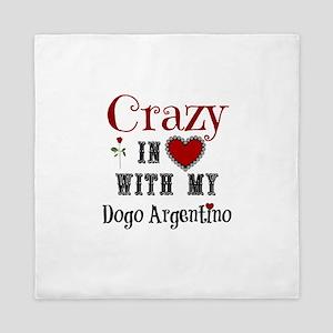 Dogo Argentino Queen Duvet
