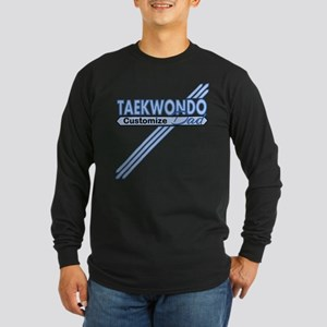 Tae Kwon Do Dad Long Sleeve Dark T-Shirt