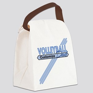 Volleyball Dad Canvas Lunch Bag