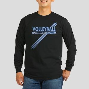 Volleyball Dad Long Sleeve Dark T-Shirt