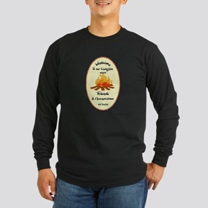 Funny Welcome to Campfire Friends Long Sleeve T-Sh