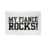 My Fiance Rocks Rectangle Magnet