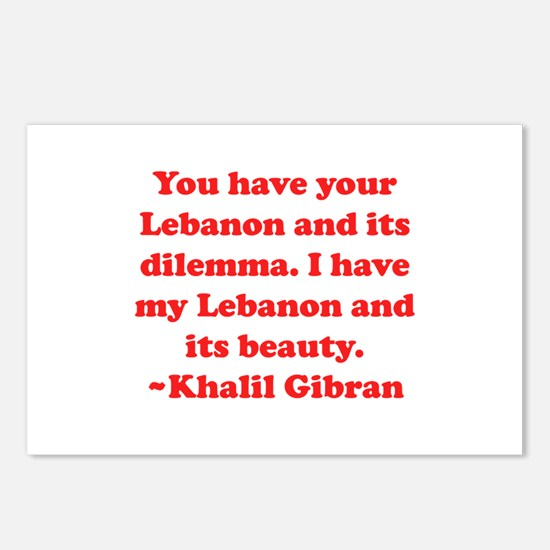 Dilemma Postcards (Package of 8)