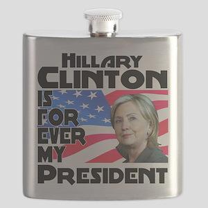 Hillary Forever Flask